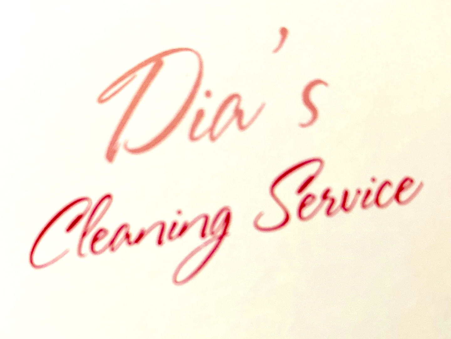 Dia's Cleaning Service