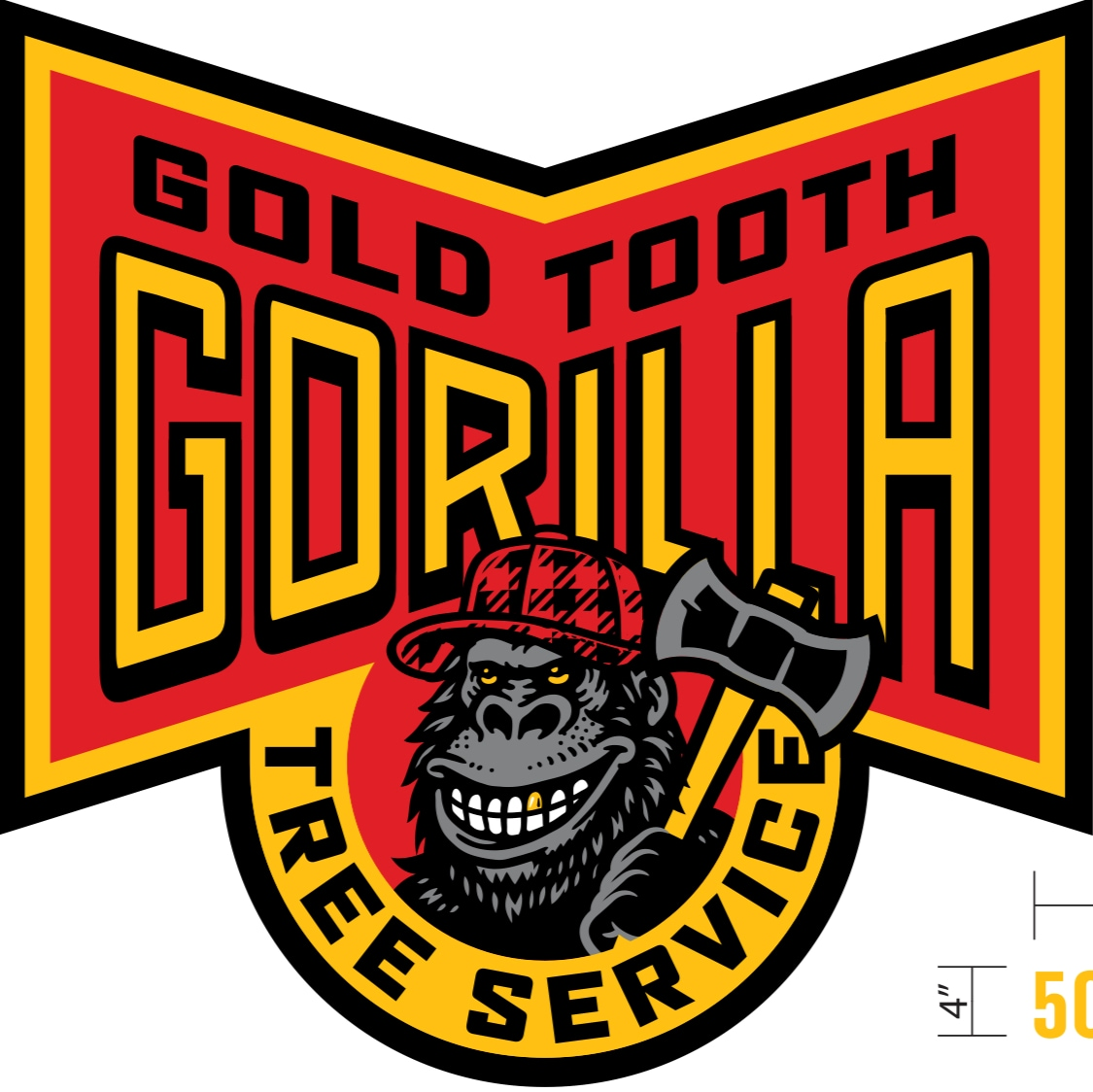 Gold Tooth Gorilla Tree Service