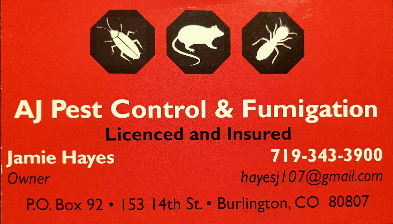 AJ Pest Control & Fumigation
