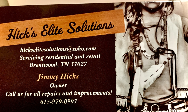 Hicks Elite Solutions