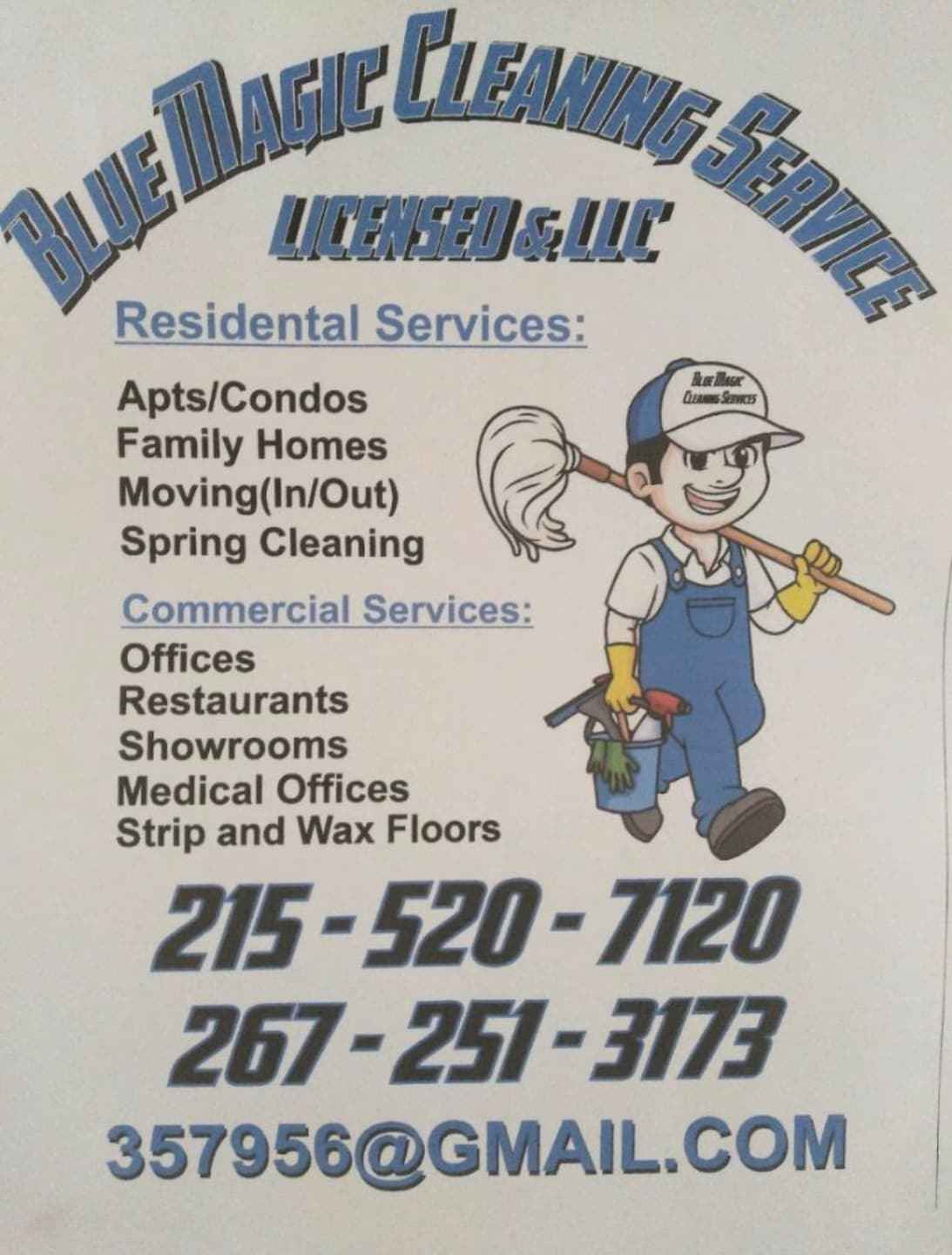 Blue Magic Cleaning Service