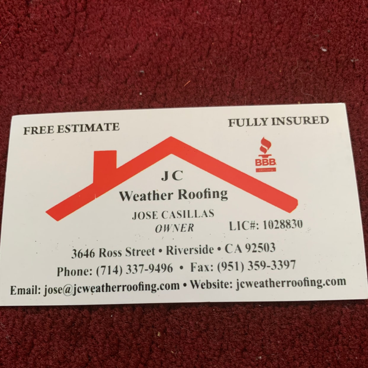 J C Weather Roofing