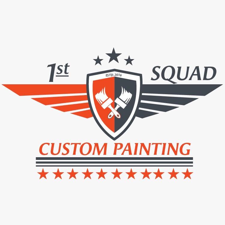1st Squad Custom Painting