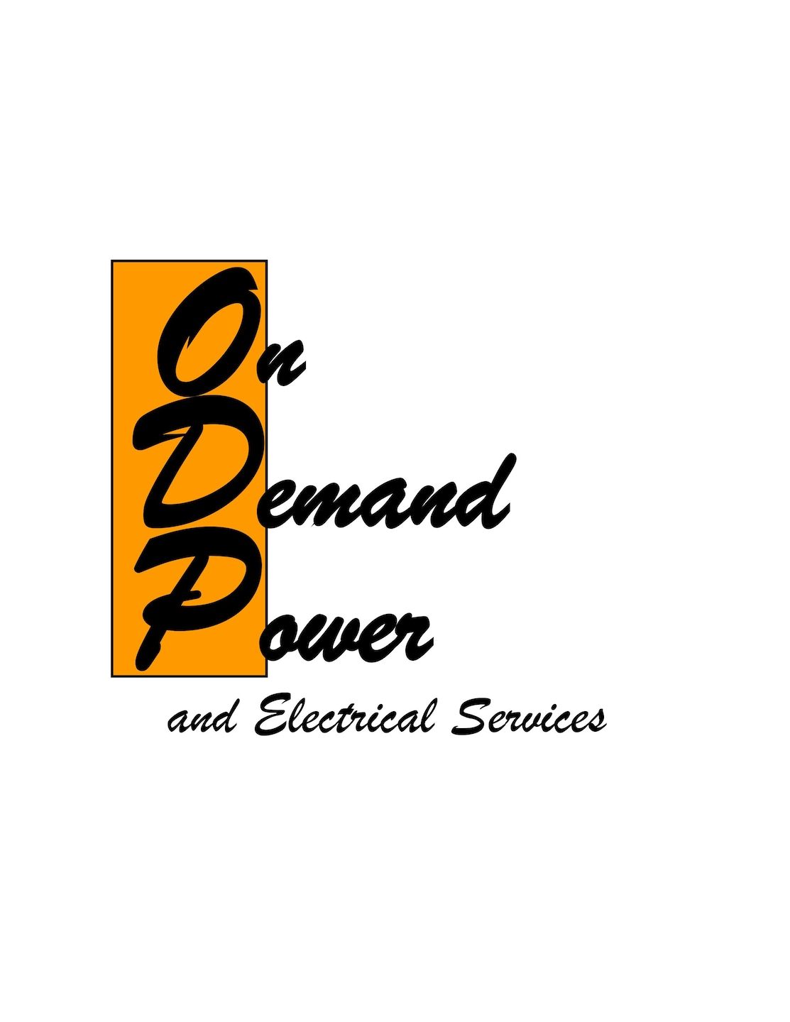 On Demand Power and Electrical Services