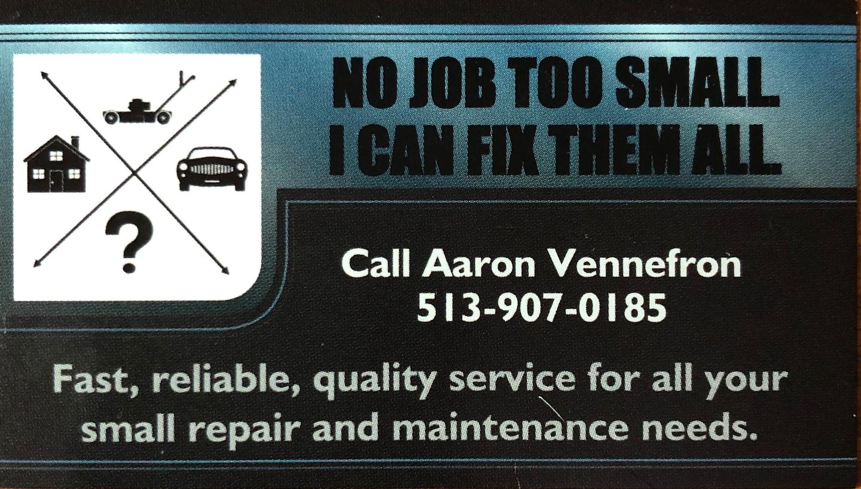 Aaron Vennefron Handyman Service