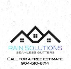 Rain Solutions Seamless Gutters