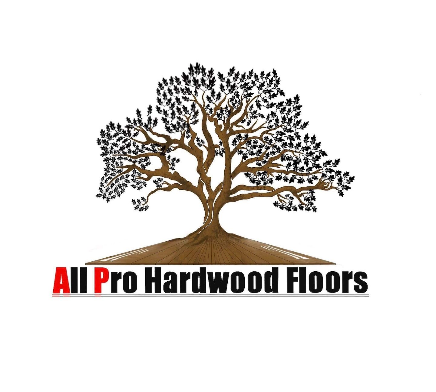 All Pro Hardwood Floors  logo
