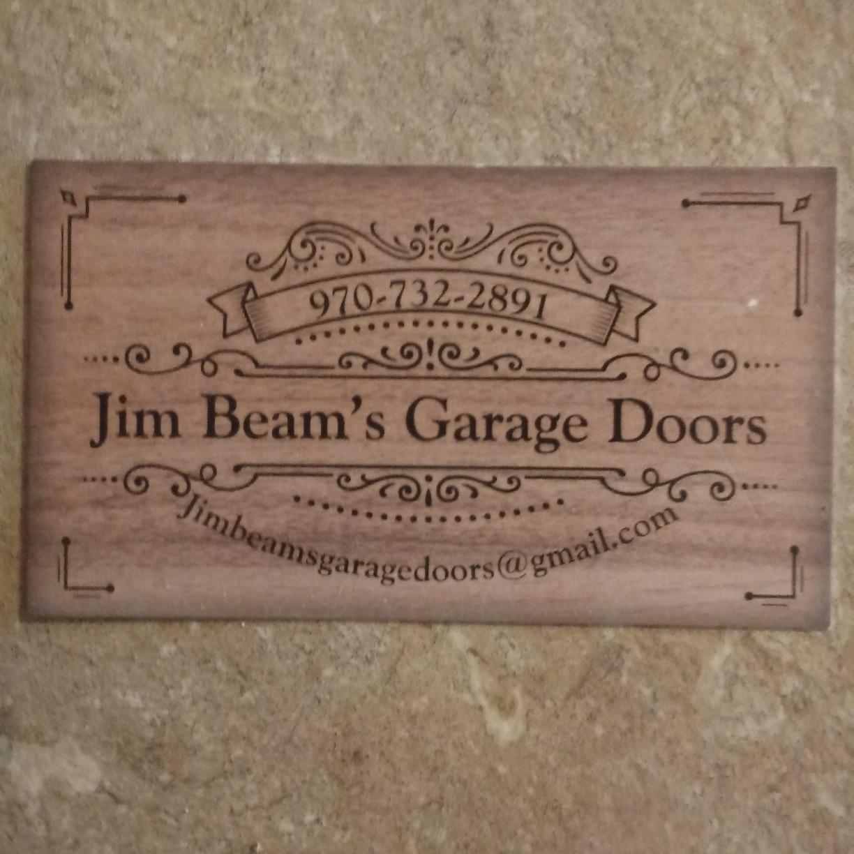 Jim beams garage doors
