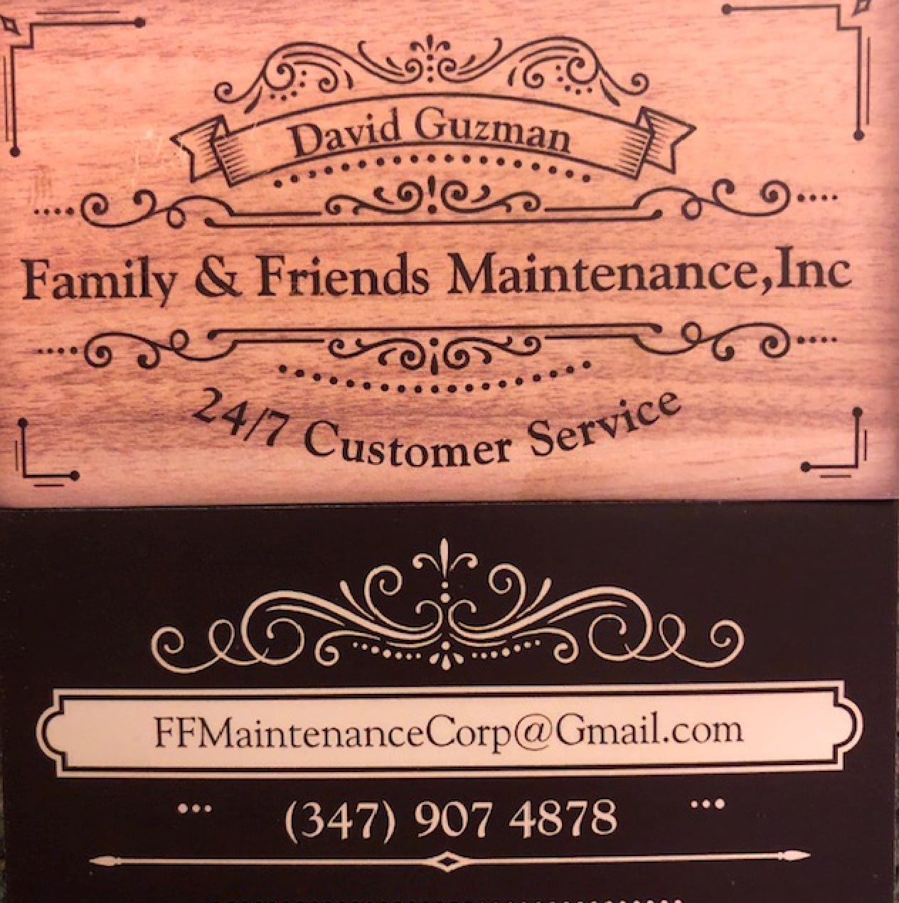 Family & Friends Maintenance, Inc