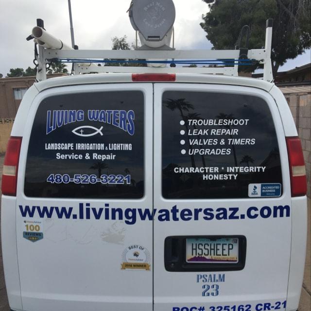 Living Waters Landscape Irrigation & Lighting Service & Repair