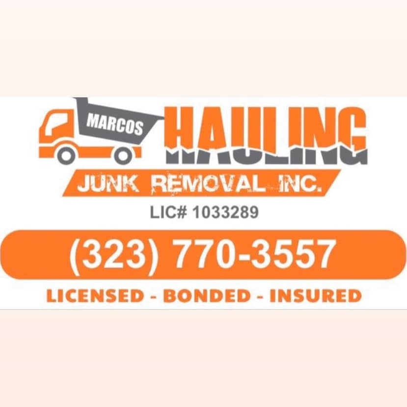 Marcos Hauling and Junk Removal INC