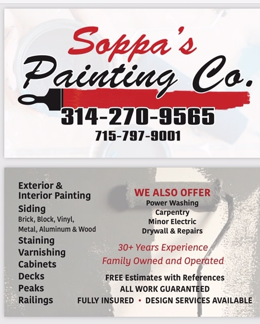 SOPPA'S PAINTING & DECORATING CO.