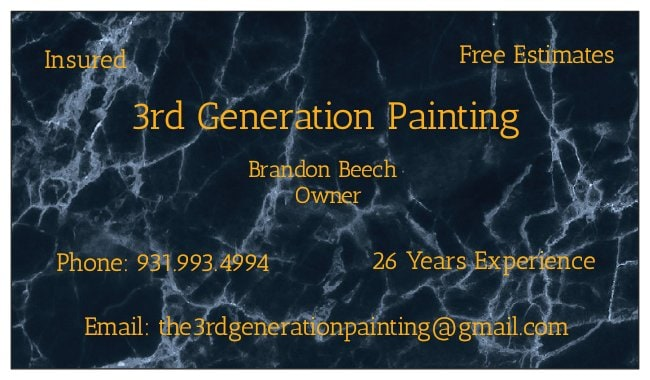 3rd Generation Painting, LLC