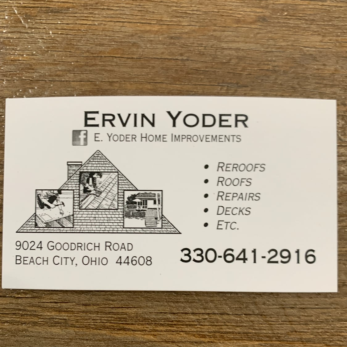 E. Yoder Home Improvements
