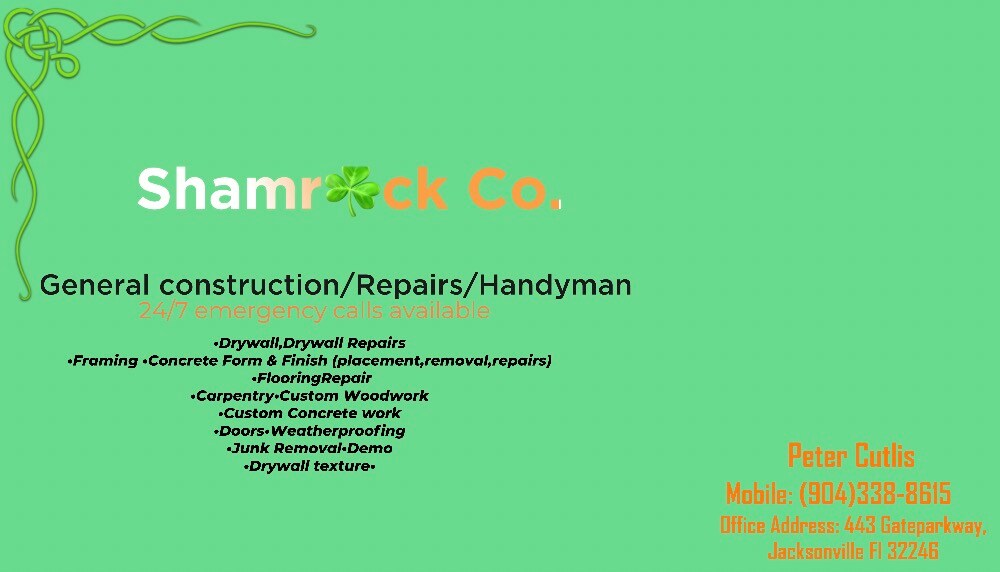 SHAMROCK Construction Services