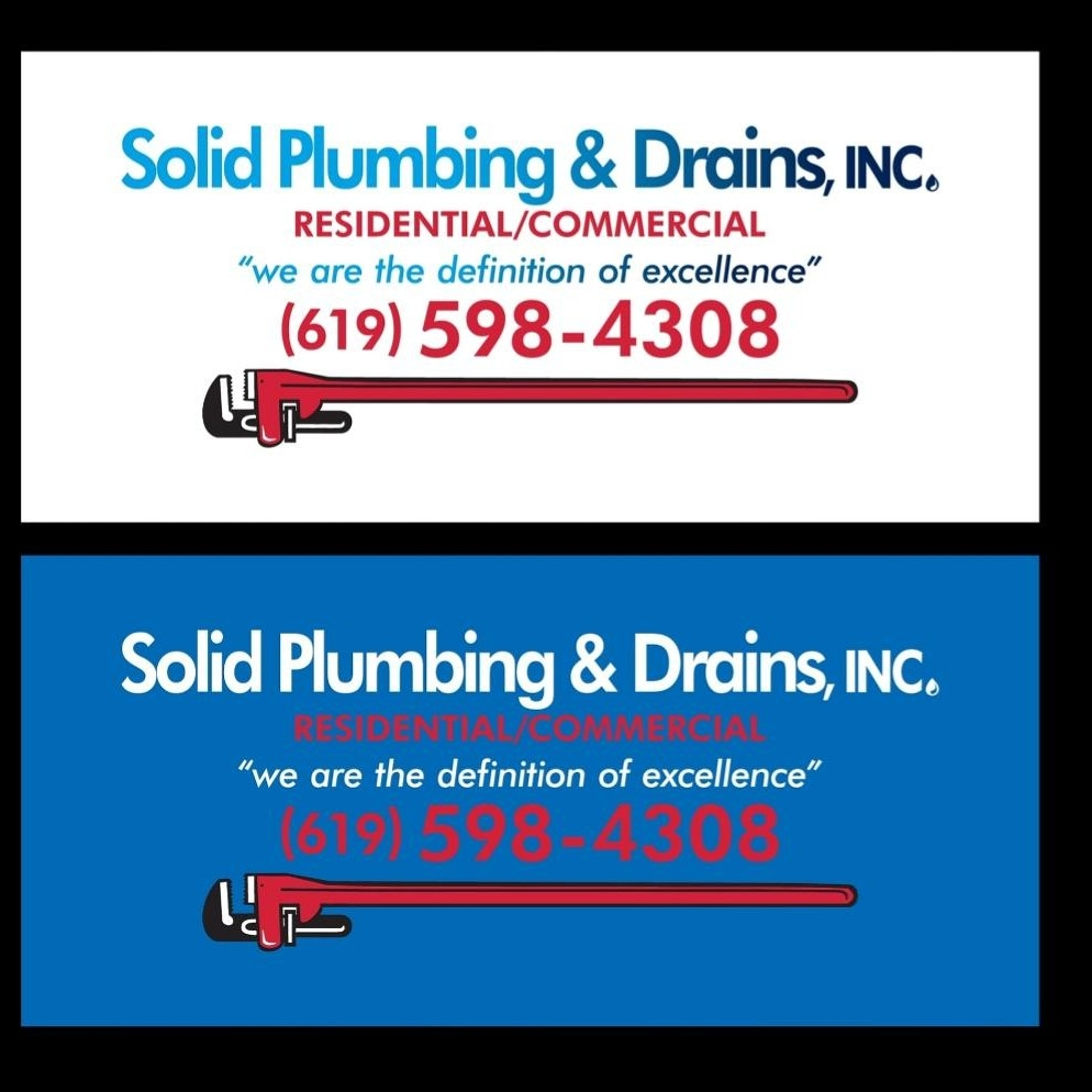 Solid plumbing & drains inc.