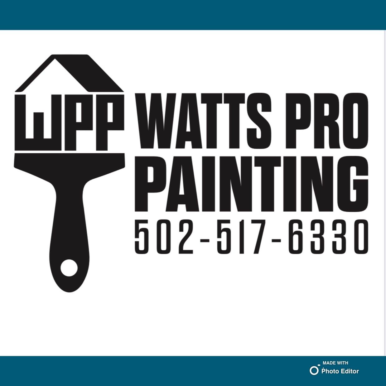 Watts Pro Painting