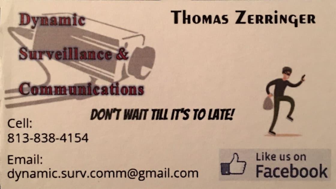 Dynamic Surveillance & Communications LLC