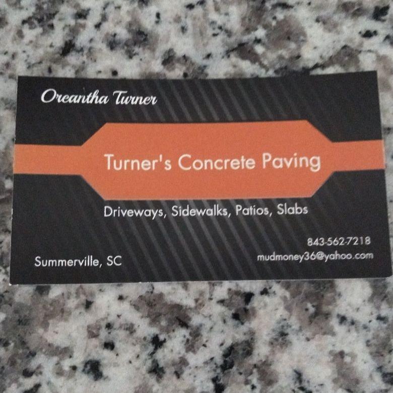 Turner Concrete Paving