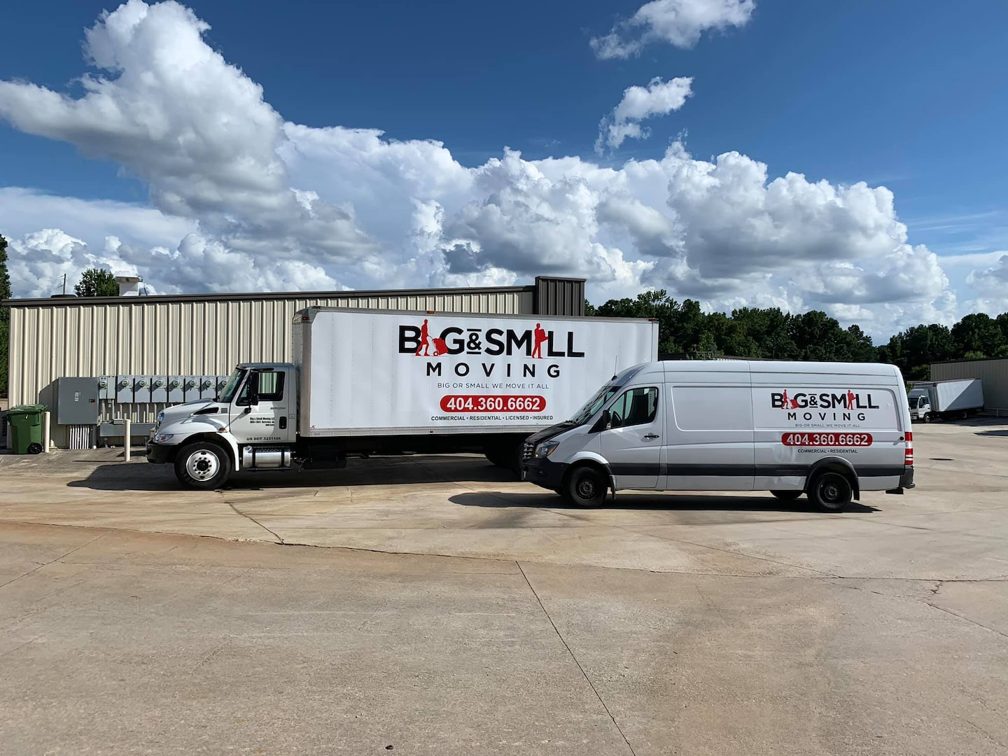 Big and Small Moving, LLC
