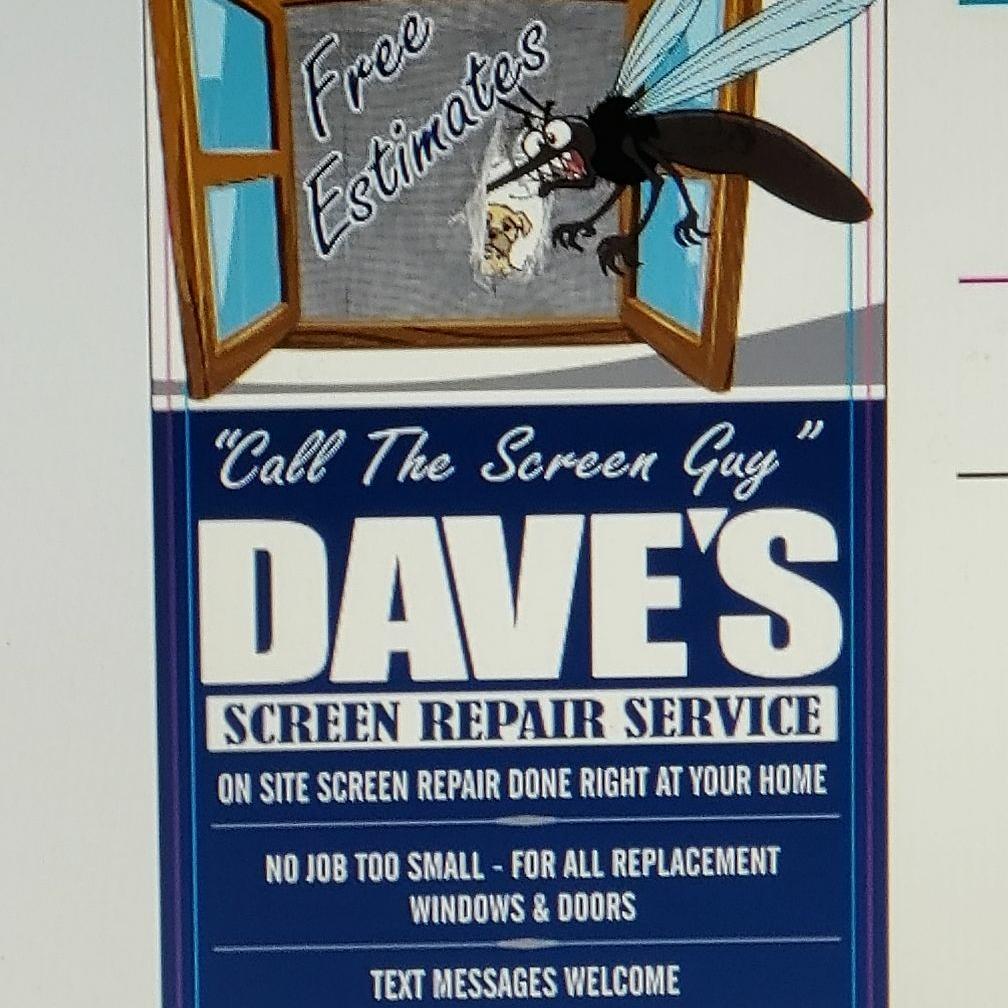 Dave's Screen Repair Service
