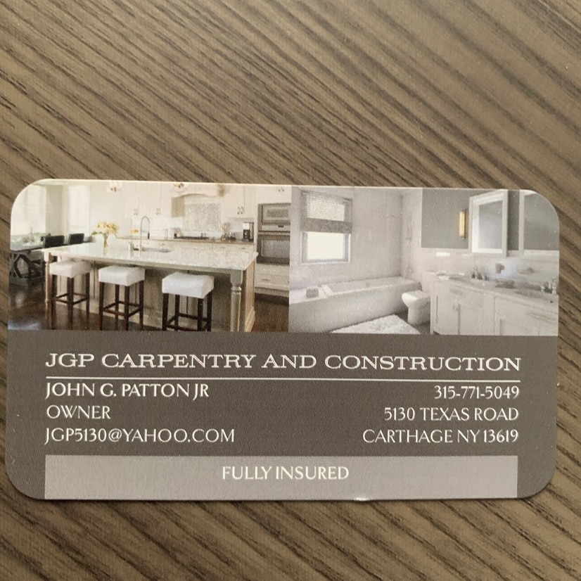 JGP Carpentry and Construction