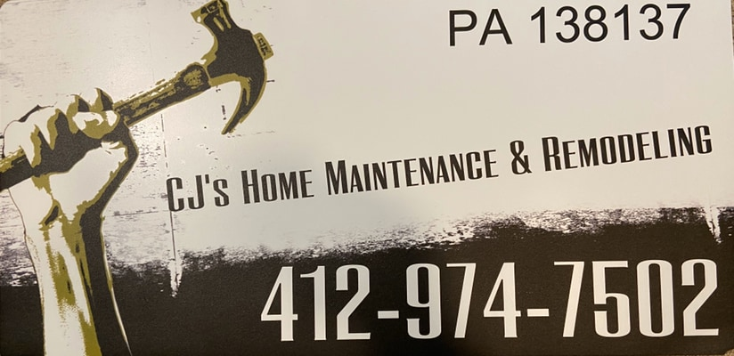 CJ's Home Maintenance and Remodeling