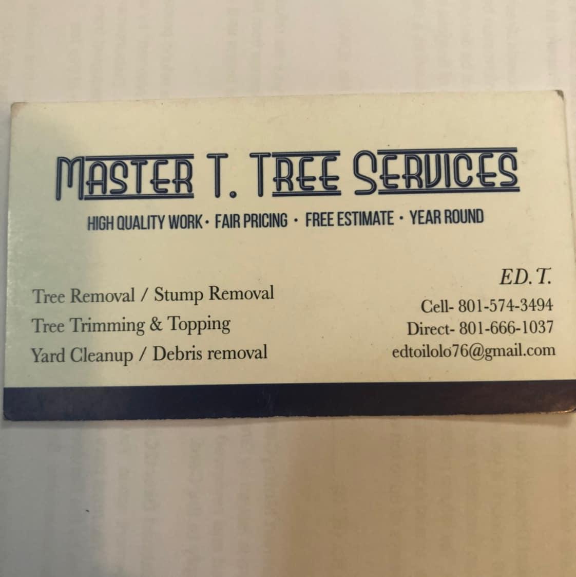 Master T Tree Service