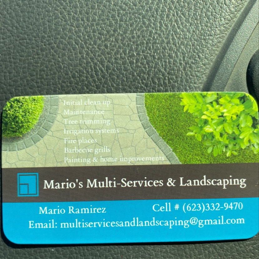Mario's Multi Services & Landscaping