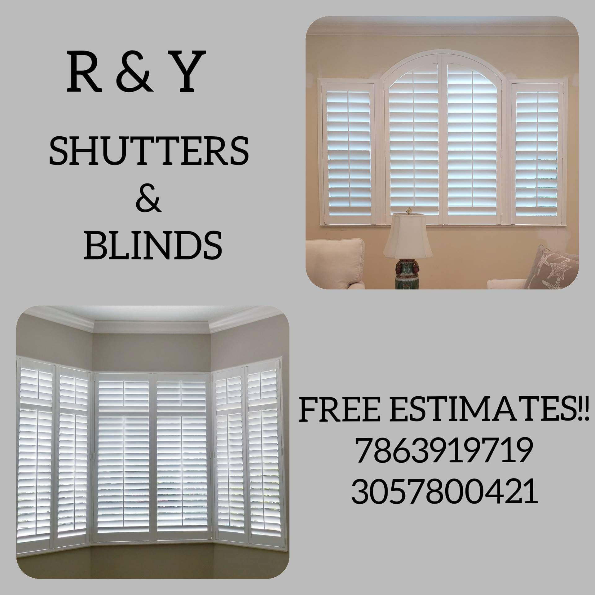 R & Y Shutters & Blinds Corp