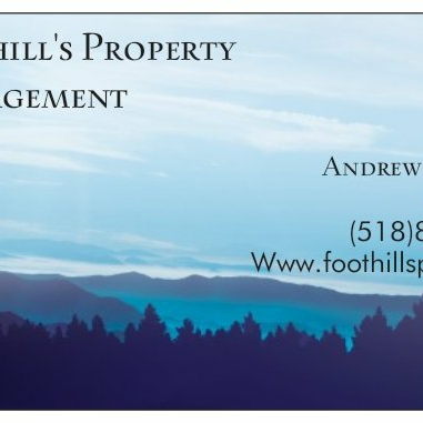 Foothill's Property Management