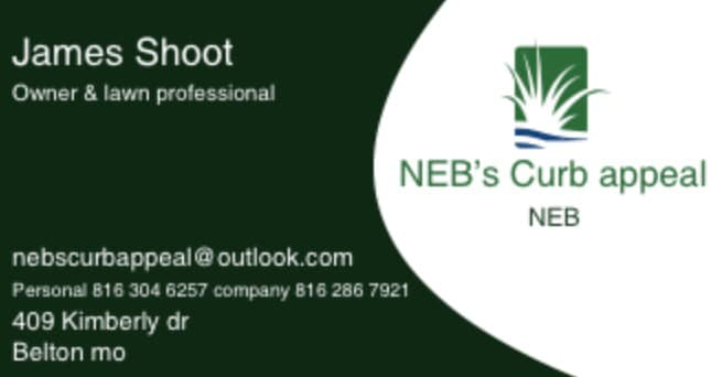 NEBs Curb Appeal