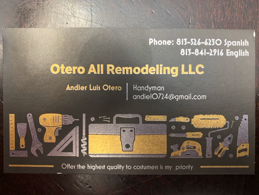 Otero All Remodeling LLC