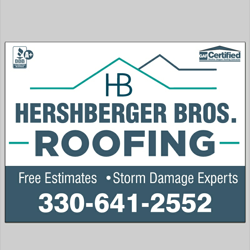 Hershberger Brother's Roofing logo