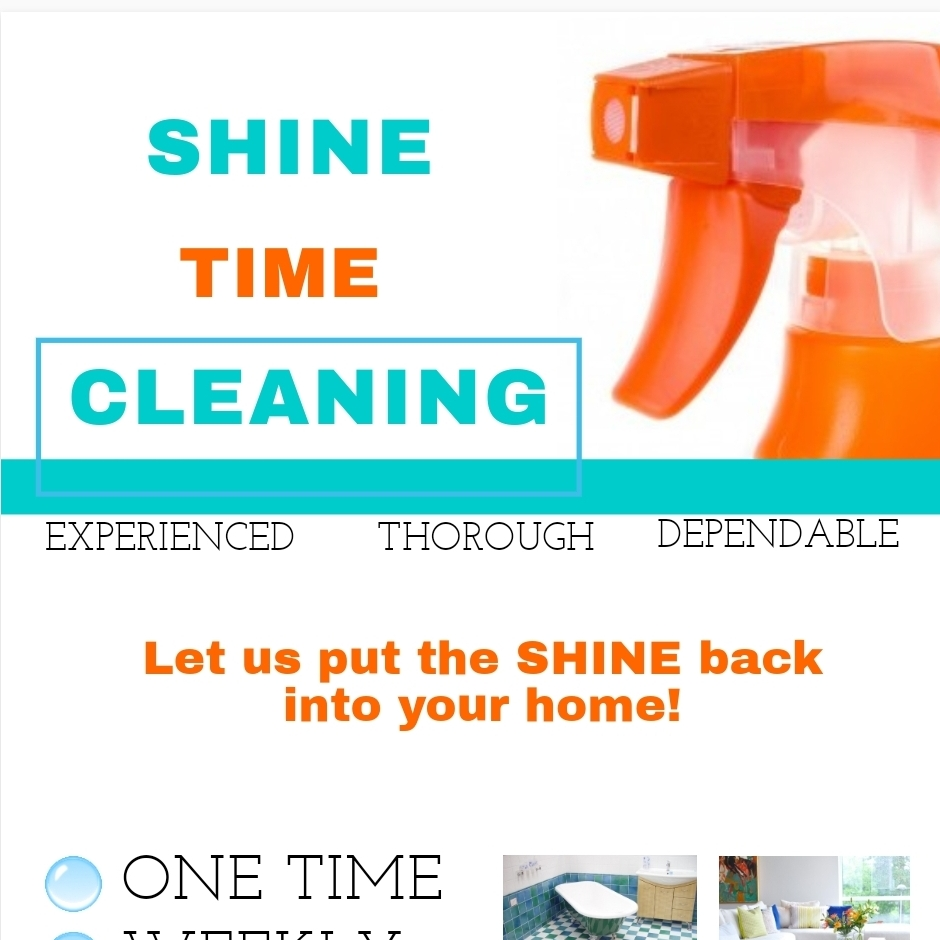 Shine time cleaning