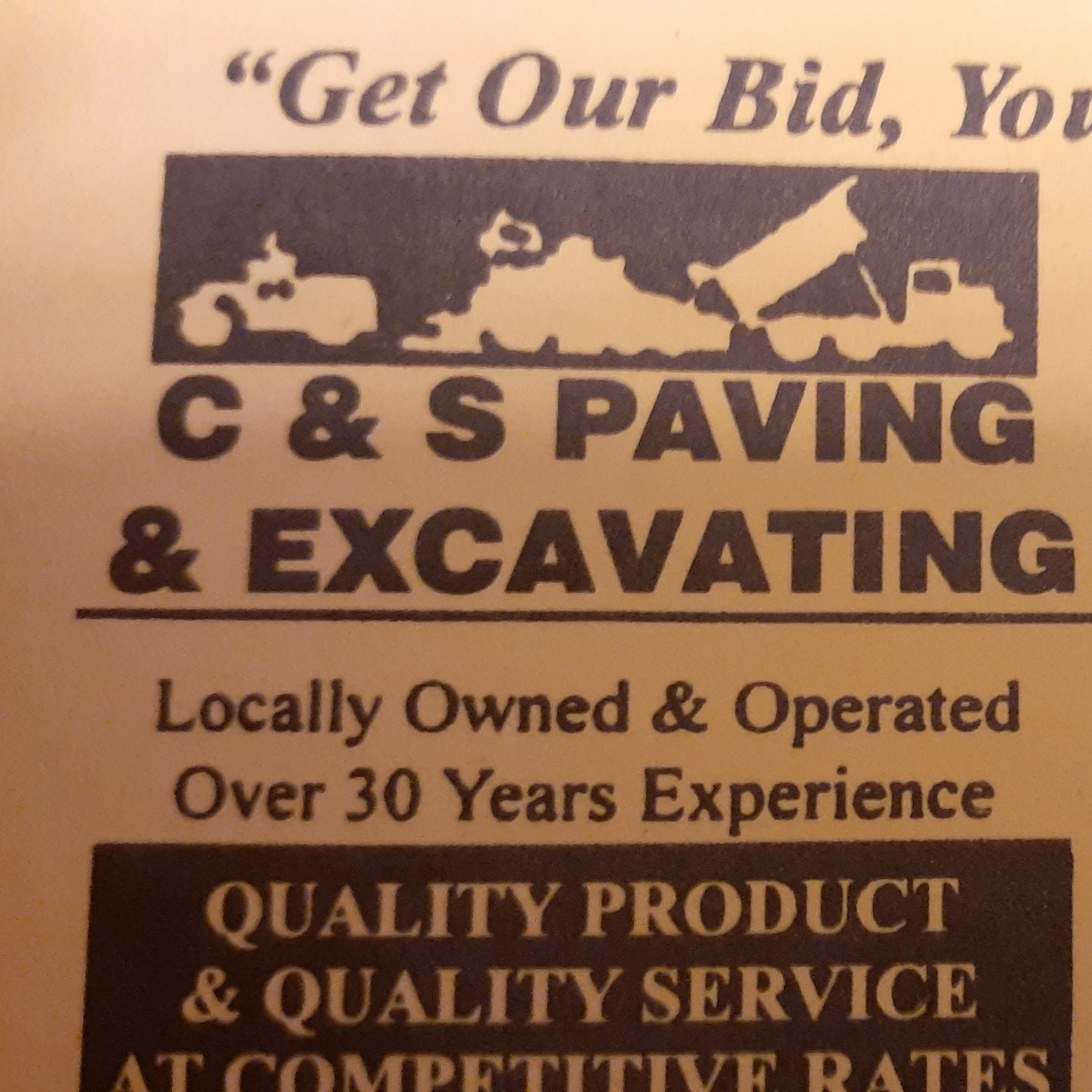 C&S Paving & Excavating
