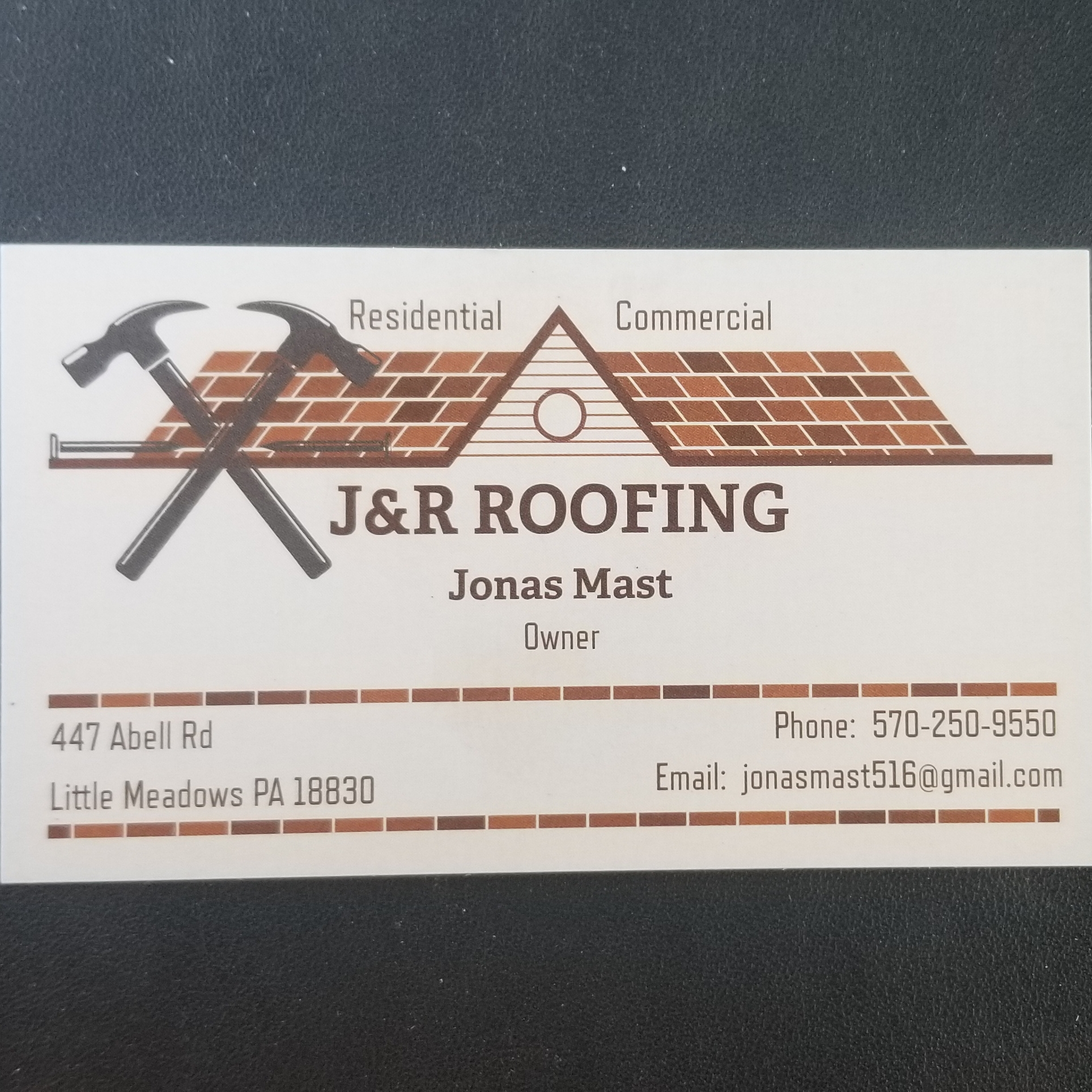 J&R Roofing, LLC  logo