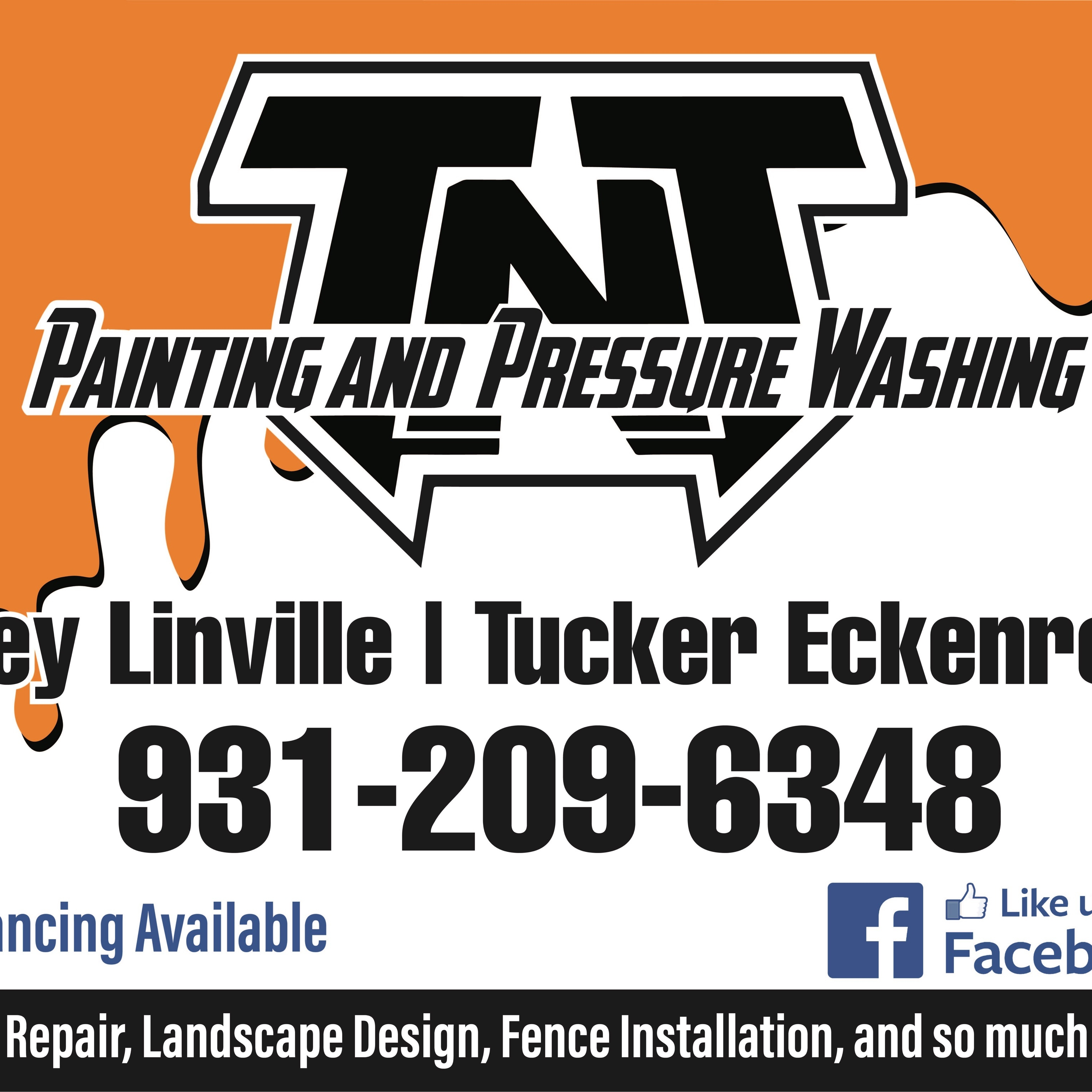 TNT Painting And Pressure Washing