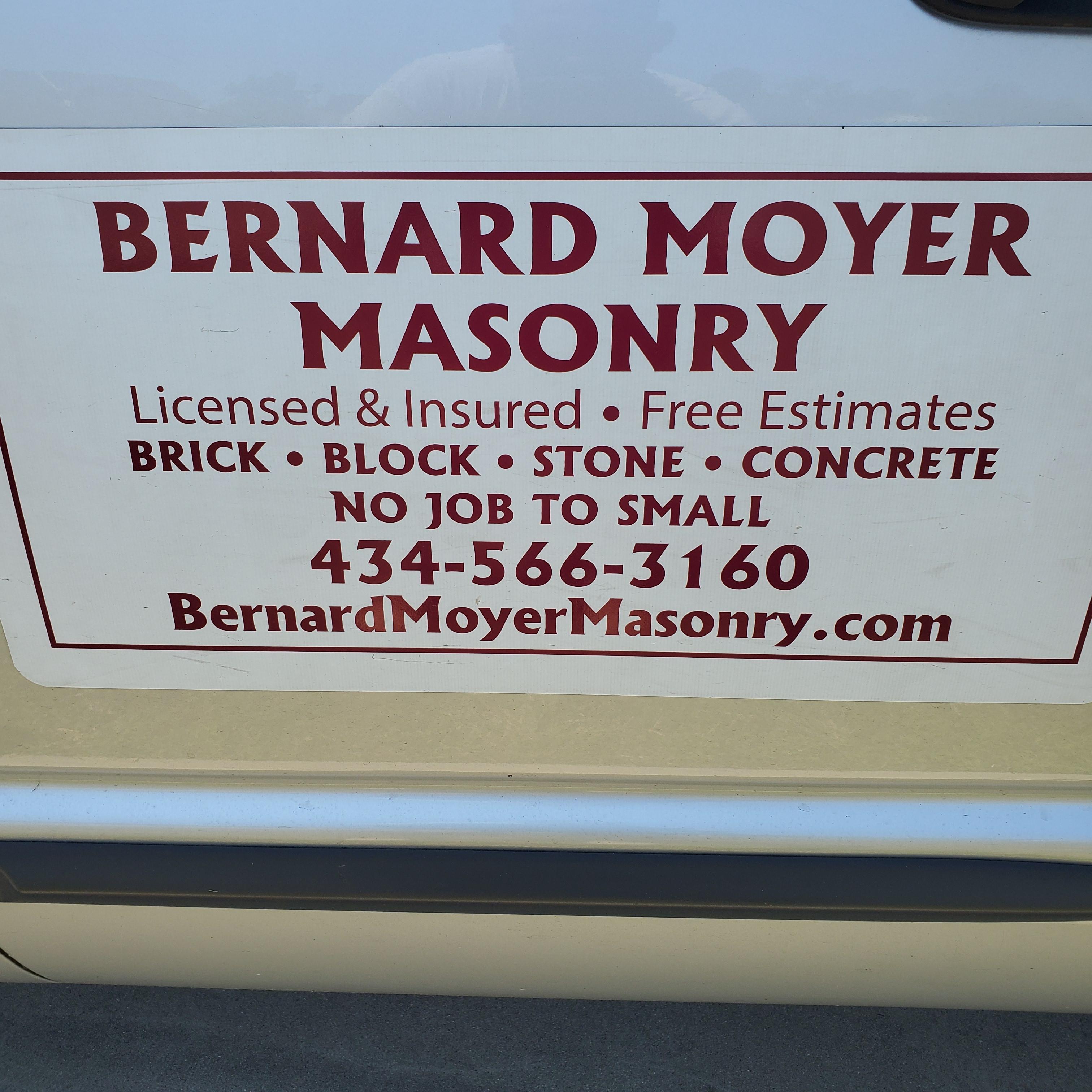 Bernard Moyer Masonry