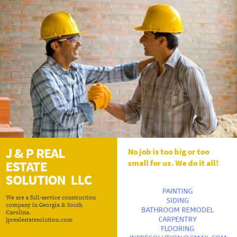 J & P Real Estate Solution LLC