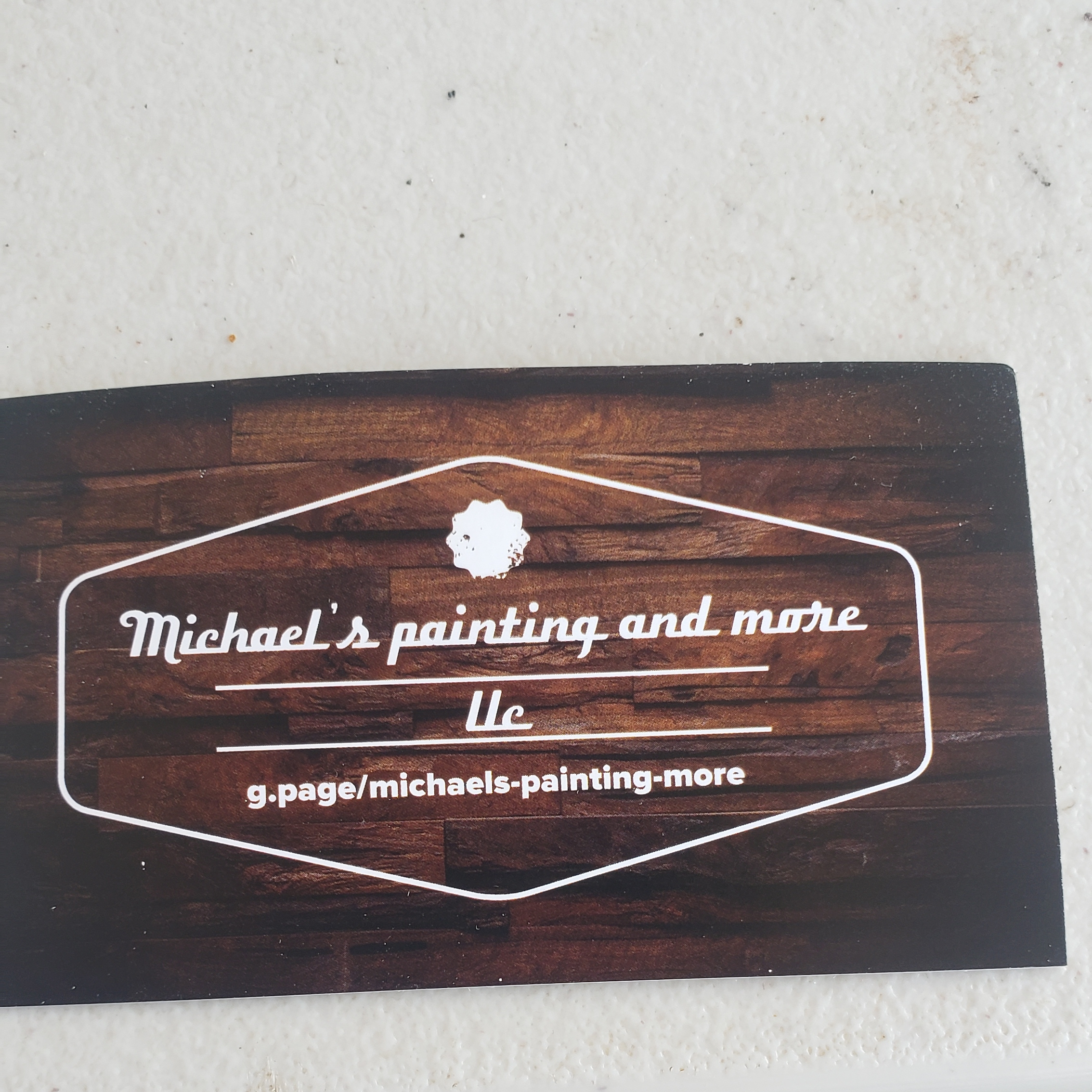 Michaels painting & more