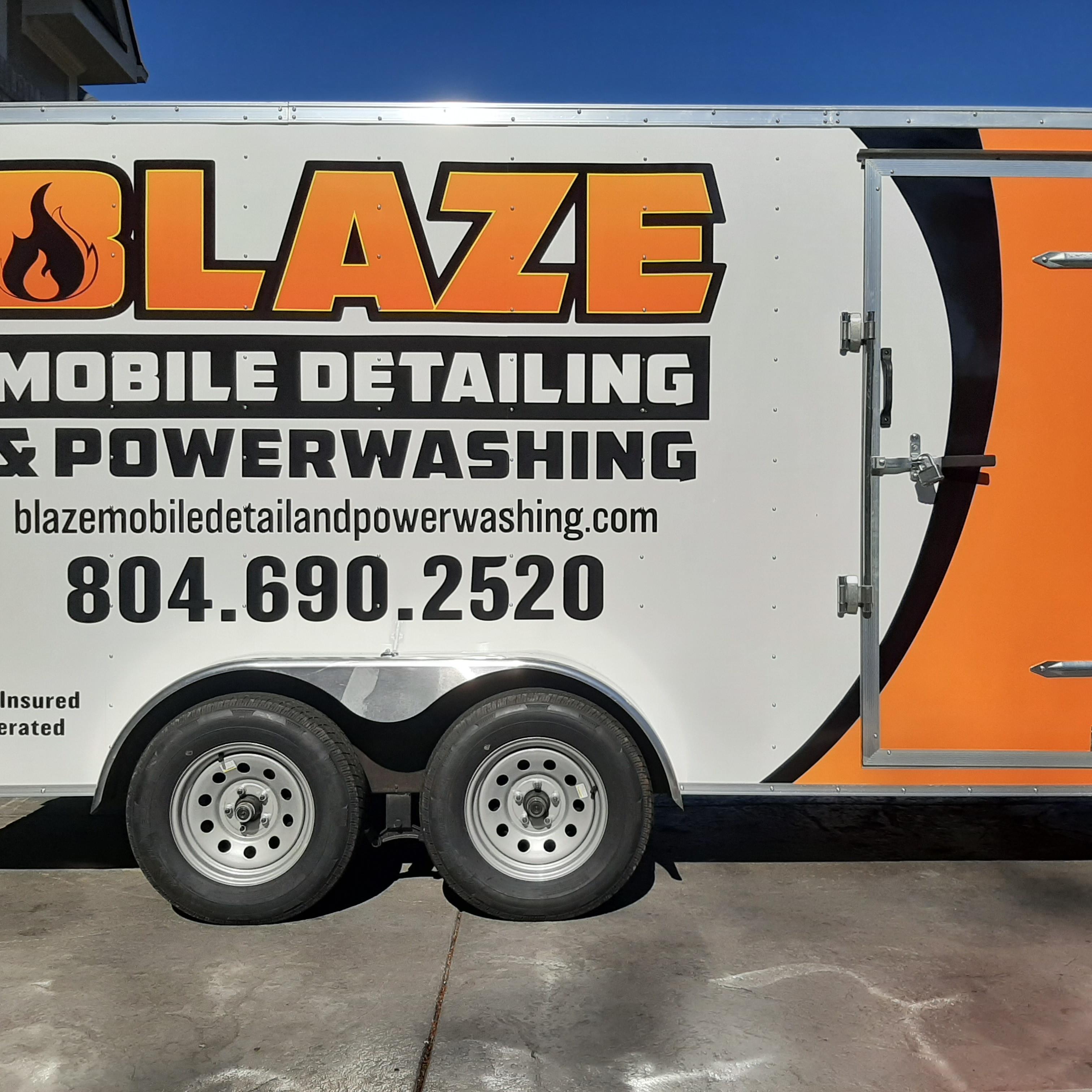 Blaze Mobile Detail & Powerwashing, LLC